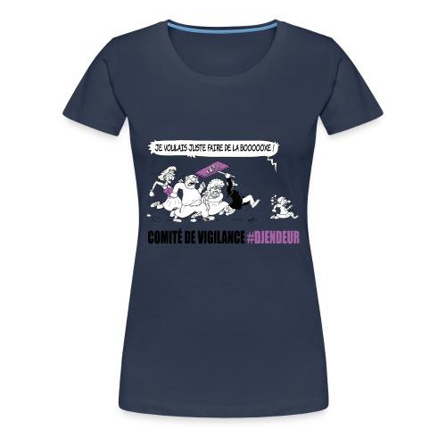 #Djendeur Boxe cintré couleurs - T-shirt Premium Femme