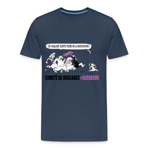 #Djendeur Boxe droit couleurs - T-shirt Premium Homme