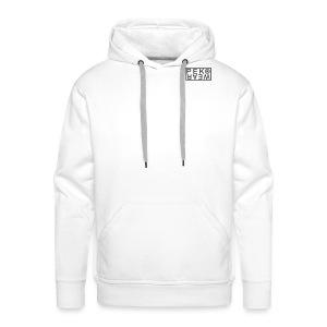 Peko Wear white hood - Men's Premium Hoodie