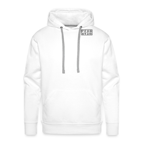 Peko Wear white hood - Men's Premium Hoodie