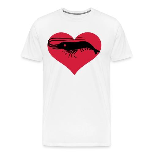 Prawn Lover Mens T - Men's Premium T-Shirt