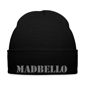 Zwarte madbello winter muts - Wintermuts