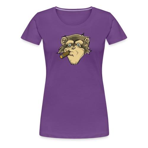 Schimpanse - Frauen Premium T-Shirt