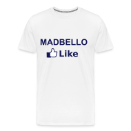 T-shirts ~ Mannen Premium T-shirt ~ I Like madbello t-shirt 01