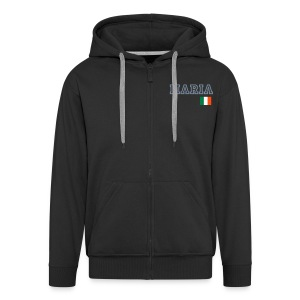 Maria - Men's Premium Hooded Jacket
