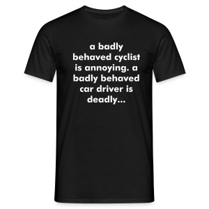 Bad Behaviour - Men's T-Shirt