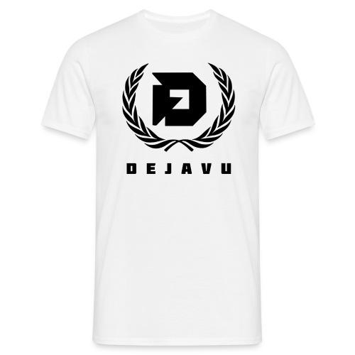 DejaVu Weiß Lorbeerkranz - Männer T-Shirt