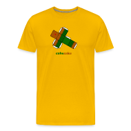 T-shirts ~ Mannen Premium T-shirt ~ Cubecake (heren)