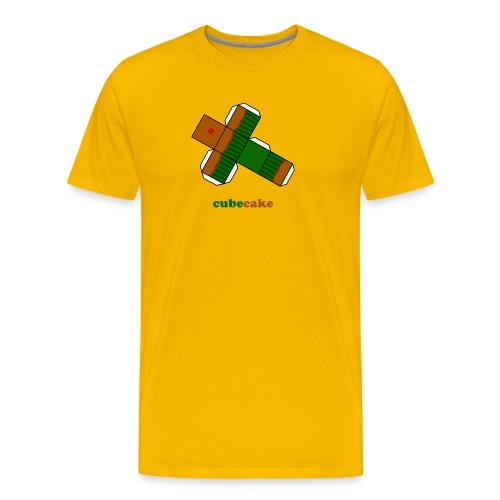 Cubecake (heren) - Mannen Premium T-shirt