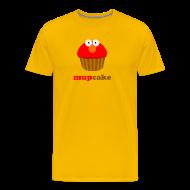 T-shirts ~ Mannen Premium T-shirt ~ Mupcake Elmo (heren)