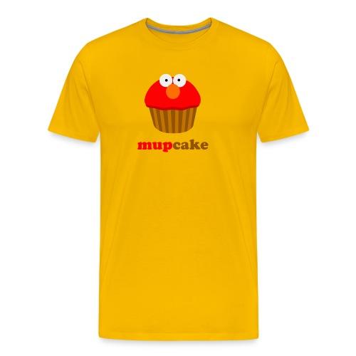 Mupcake Elmo (heren) - Mannen Premium T-shirt