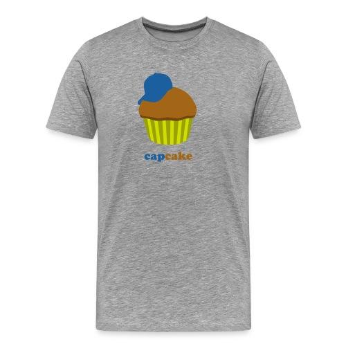 Capcake (heren) - Mannen Premium T-shirt