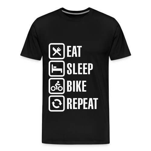 The life of a cyclist - Men's Premium T-Shirt