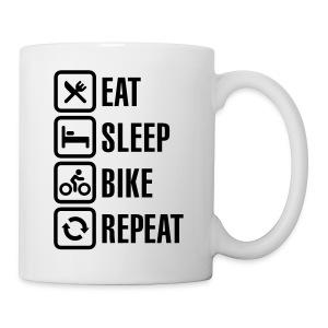 The cyclist life style - Mug