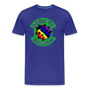BORN 2B MILD rainbow - Mannen Premium T-shirt