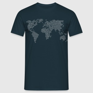 World Code World in Figures  T-Shirts - Men's T-Shirt