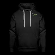 Pullover & Hoodies ~ Männer Premium Kapuzenpullover ~ Herren Sweatshirt schwarz