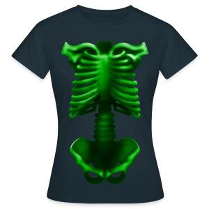 Skelett - Frauen T-Shirt