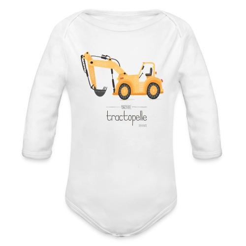 Tractopelle by SEVEUSMZ - Body bébé bio manches longues