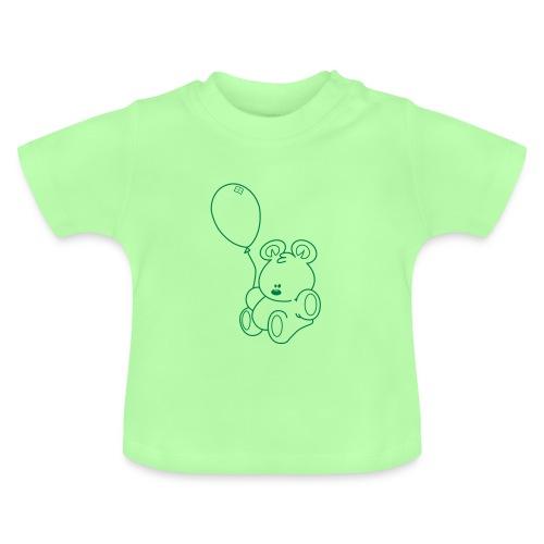 Le Tshirt de l'Ourson vert - T-shirt Bébé