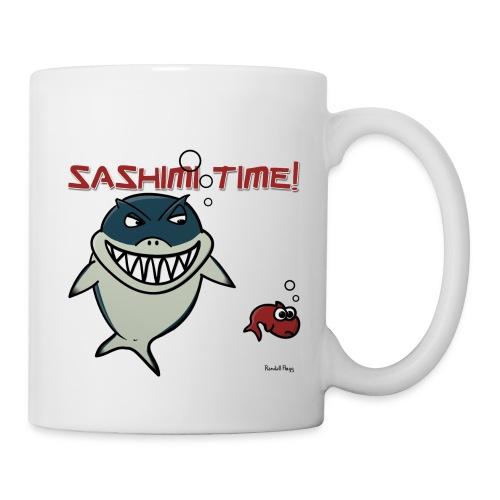 Mug Nado le Requin Pour Droitier - Mug blanc