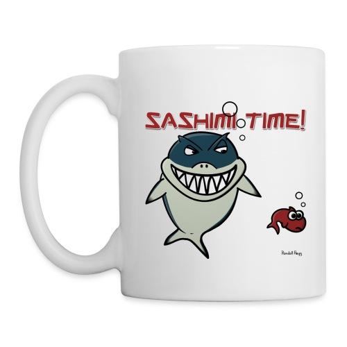 Mug Nado le Requin Pour Gaucher - Mug blanc