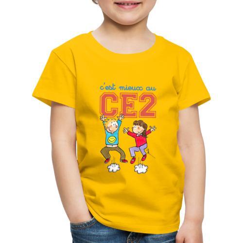 t shirt classique enfant - c'est mieux au CE2 - T-shirt Premium Enfant