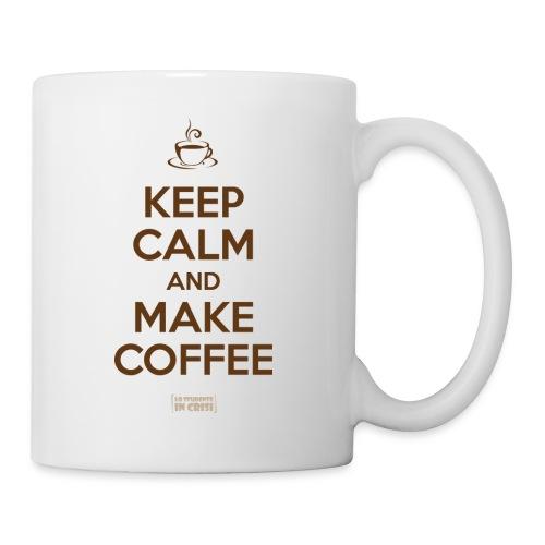 Keep calm and make coffee - Cup - Tazza
