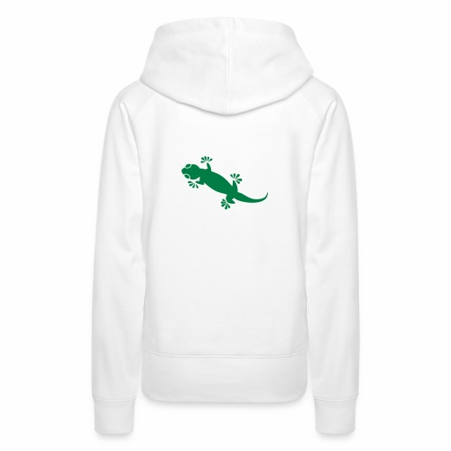 Gecko - Frauen Premium Hoodie