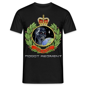 Robot Regiment T-shirt (Choose Colour) - Men's T-Shirt