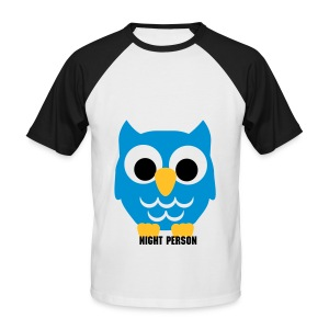 NIGHT PERSON Male Tee - Men's Baseball T-Shirt