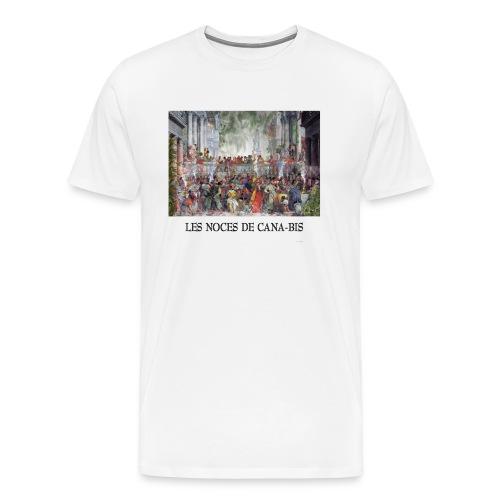 Les noces de cana-bis - T-shirt Premium Homme