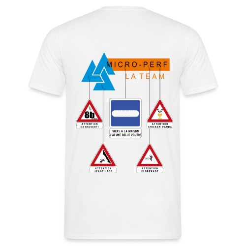Micro-Perf - Complet Relais - T-shirt Homme