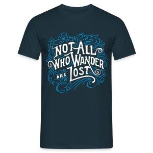 The Wanderer - Men's T-Shirt