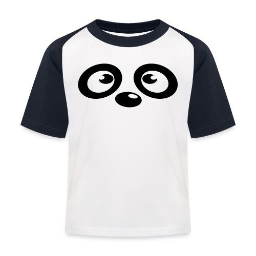 Kinder T-Shirt - Panda Bär (dh) - Kinder Baseball T-Shirt