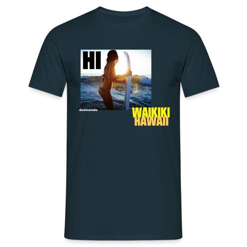 HI COLLECTION: Waikiki Girl - Männer T-Shirt