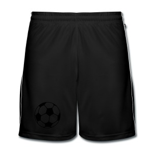 BLACK SHORTS - Men's Football shorts