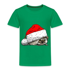Cute Christmas Hedgehog Kid's Tee - Kids' Premium T-Shirt