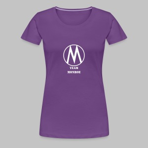 T-shirt Femme (woman) Team Monroe - Women's Premium T-Shirt