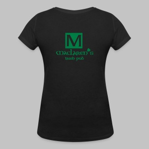 T-shirt Femme (woman) MacLaren's pub - Women's V-Neck T-Shirt