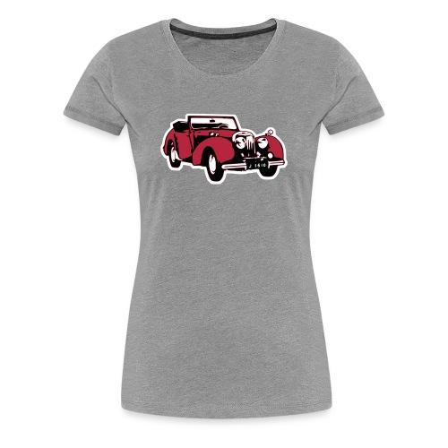 T-Shirt Triumph Roadster - Frauen Premium T-Shirt