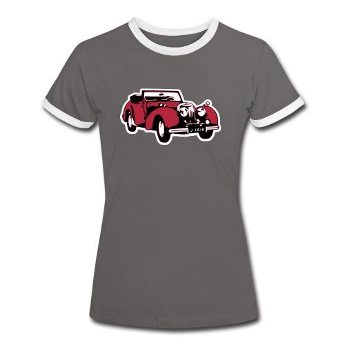 T-Shirt Triumph Roadster - Frauen Kontrast-T-Shirt