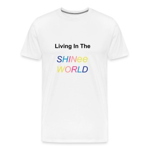 T-shirt male Living In The SHINee World - Men's Premium T-Shirt