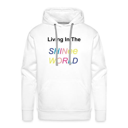 Hoodie male Living In The SHINee World - Men's Premium Hoodie