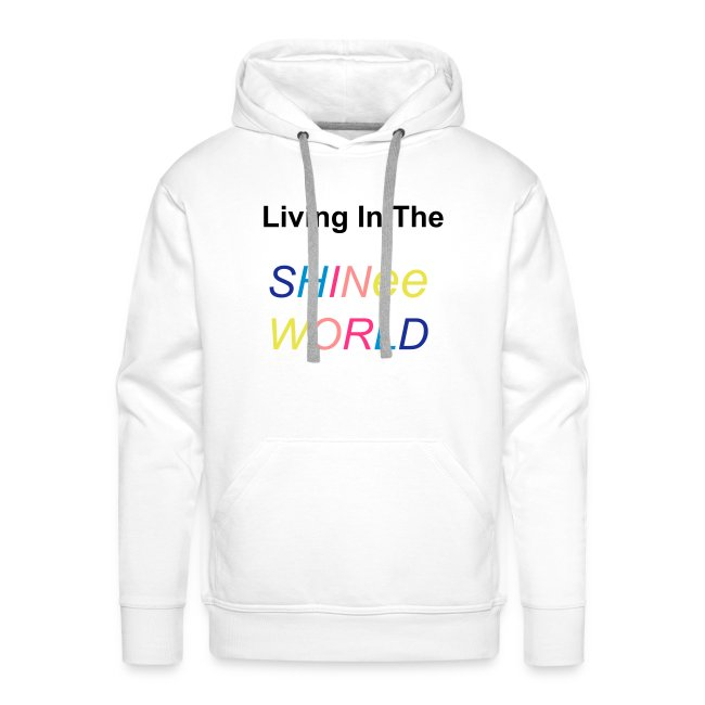 """Hoodie male """"Living In The SHINee World"""""""