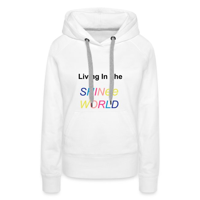 "Hoodie female ""Living In The SHINee World"""