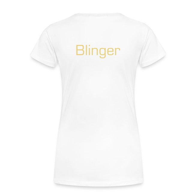 "T-shirt female ""Bling Bling Makes SHINee Shine"""