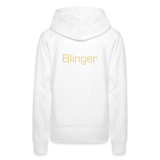 "Hoodie female ""Bling Bling Makes SHINee Shine"""