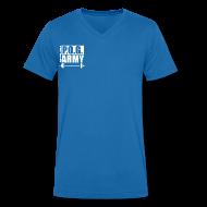 T-Shirts ~ Men's V-Neck T-Shirt ~ Do You Even Lift Hippie White VNECK