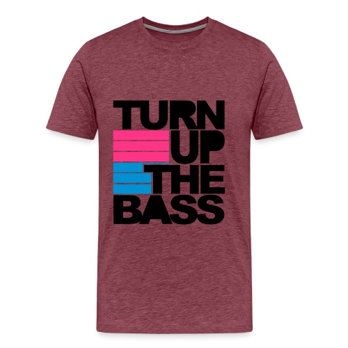 Men's the bass - Men's Premium T-Shirt